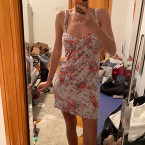 Free people intimates Floral bustier dress 🍓🦄